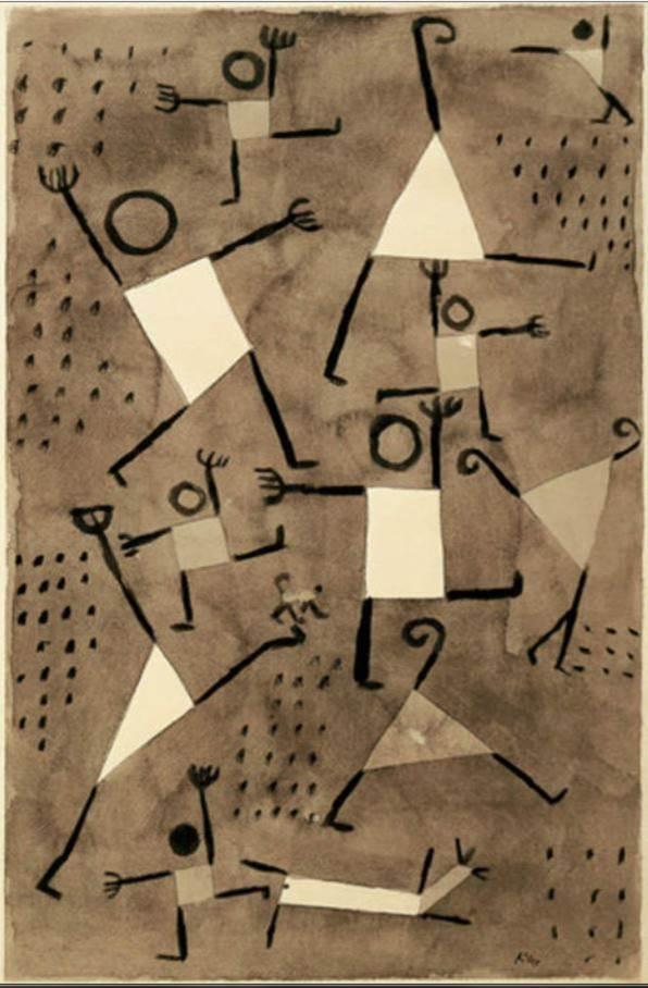 Danse sous l'emprise de la peur, Klee... et les formes !